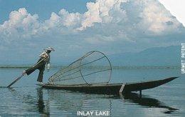 PHONE CARD-MYANMAR-INLAY LAKE - Myanmar (Burma)
