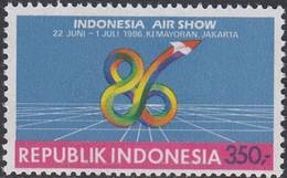 Indonesia 1986 - Indonesia Air Show - Mi 1204 ** MNH - Indonesia