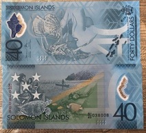 Solomon Islands - 40 Dollars 2018 UNC Lemberg-Zp - Solomon Islands