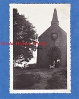 3 Photos Anciennes - MORTAIN - Chapelle Saint Michel - 19 Aout 1933 - Manche Normandie - Boats
