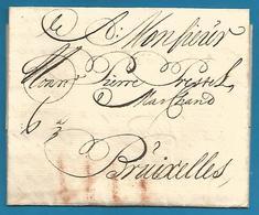 (D051) LAC De Dordrecht Vers Bruxelles Du 18/11/1738 - Nederland