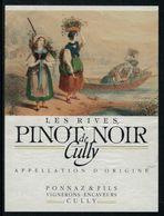 Etiquette De Vin // Pinot Noir De Cully, Vaud, Suisse - Etiquettes
