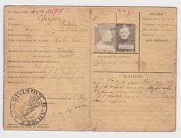 Armée Belge Guerre 14/18 Carte Du Soldat Ghysen Hubert   De Herstal - Documents