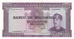 Mozambique - 500 Escudos (500$00) Not Dated - UNC - Mozambique
