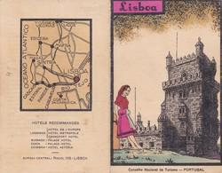 LISBOA CORTE PUBLICITARIE CIRCA 1918. CONSELHO NACIONAL DE TURISMO PORTUGAL- BLEUP - Advertising