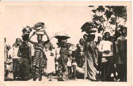 CPA-1950-COTE D IVOIRE-ABIDJAN- Le MARCHE-BE - Ivory Coast