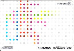 JAPAN - Kansai Ticketcard Y1000, Used - Unclassified
