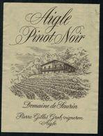 Etiquette De Vin // Pinot Noir De Aigle, Vaud, Suisse - Etiquettes
