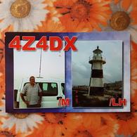 Israel -  Phare - Lighthouse - QSL - Lighthouses