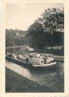 Photographie Originale - Péniche SOLANO CITERNA à Liverdun Le 27.7.1938 - Boats