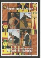 Niger 1998 - Fashion Souvenir Sheet Mnh - Níger (1960-...)