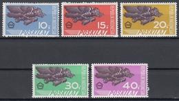 Indonesia 1968 - Special Delivery Stamps: Garuda - Mi 611-615 ** MNH - Indonésie