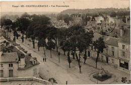 86 .. CHATELLERAULT .. VUE PANORAMIQUE ... MAGASIN Vve DUBOIS  ..  1914 - Chatellerault