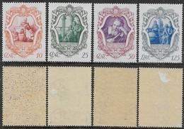Italia Italy 1942 Regno Galileo Sa N.462-465 Completa Nuova MNH/MH **/* - Nuovi