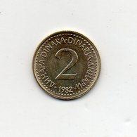 Jugoslavia - 1982 - 2 Dinara - Vedi Foto - (MW1407) - Jugoslavia