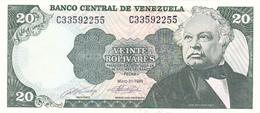 Venezuela - 20 Bolivares 1990 - UNC - Venezuela