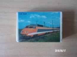 Le TGV  (4) - Boites D'allumettes