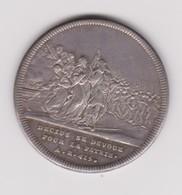 Médaille De Dassier Sur Publius Decius Mus, 1743 - Royaux / De Noblesse