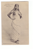 Sri Lanka Colombo Ceylon Ceylan Family Woman Estate Cooly Cachet Maritime Marseille Yokoama N°4 1915 - Sri Lanka (Ceylon)