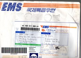 EMS-EPG Post TONGYEONG 2003 (too Large For The Scanner) (183) - 1921-... Republic