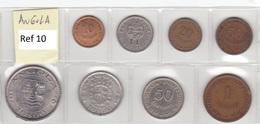 Angola - Set Of 8 Coins (portuguese Colonies) - Ref 10 - Angola