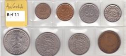 Angola - Set Of 8 Coins (portuguese Colonies) - Ref 11 - Angola