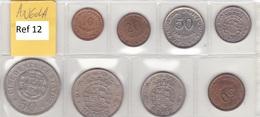 Angola - Set Of 8 Coins (portuguese Colonies) - Ref 12 - Angola