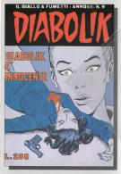Cartolina N,240 Diabolik Anno XII  N,9  Diabolik è Innocente EMA- Specimen 20-10-2007  Montichiari Brescia - Bandes Dessinées