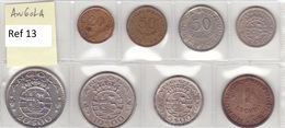 Angola - Set Of 8 Coins (portuguese Colonies) - Ref 13 - Angola