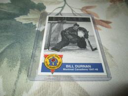 1993-94 High Liner Greatest Goalies # 12 BILL DURNAN MONTREAL CANADIENS - Singles (Simples)