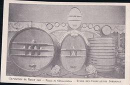 Exposition De NANCY 1909 Palais De L'Alimentation Stand Des Tonnelleries Lorraines - Nancy