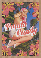 CC Carte Parfumée 'PRADA' CANDY Perfume Card POSTCARD 15 X 10 Cm - Modern (from 1961)