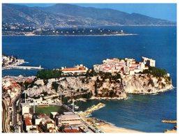 (ORL 350) Monaco With Old Stadium Full View - Estadios