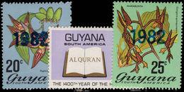 Guyana 1982 (8th Feb) 1982 Set Unmounted Mint. - Guyana (1966-...)