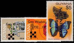 Guyana 1982 Birth Of George Washington Unmounted Mint. - Guyana (1966-...)
