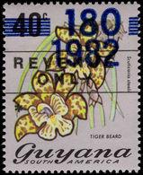 Guyana 1982 Revenue 180c On 40c 1982 Unmounted Mint. - Guyana (1966-...)