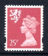 GREAT BRITAIN 1993 Scottish Machin Definitive 25p: Single Stamp UM/MNH - Scotland