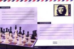 Cuba 2018 Postal Stationary Ernesto Che Guevara, Korda Picture And Chess MNH - Ajedrez