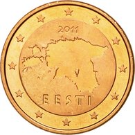Estonia, 5 Euro Cent, 2011, SPL, Copper Plated Steel, KM:63 - Estonia