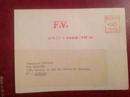 EMA FV Paris Devant - Marcophilie (Lettres)