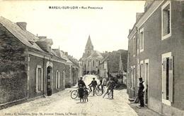 MAREIL-sur-LOIR  -rue Principale -ed. G Roncière - France