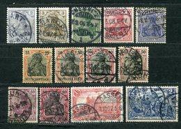 Deutsches Reich Nr.83/95         O       (2951) - Deutschland