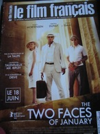 Le Film Francais N°3584 : The Two Faces Of January. 2014 - Magazines