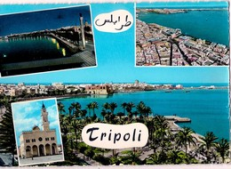 CPM Dentelées - View Of Tripoli En 1967 - TRIPOLI  LIBYE - N°16 - Ediz. Foto AULA à Tripoli - Libia
