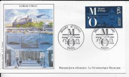75.- PARIS . Le Musée D' Orsay 1986  Premier Jour D' émission - FDC