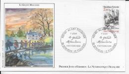 18.- EPINEUIL-LE-FLEURIEL .- Le Grand Maulnes    1986 Premier Jour D' émission - FDC