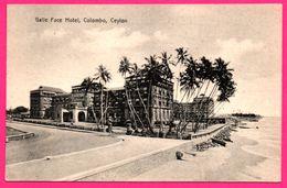 Colombo - Galle Face Hotel - Animée - PLATE Ltd N° 23 - Sri Lanka (Ceylon)