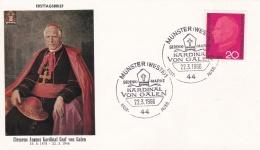 Germany FDC 1966 Kardinal Von Galen   (DD15-34A) - [7] Repubblica Federale