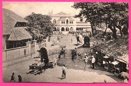 Colombo - Town Hall - Bullock - Charrette - Echope - Animée - PLATE Ltd N° 20 - Sri Lanka (Ceylon)