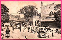 Colombo - Pettah Market - Pousse Pousse - Bullock - Charrette - Animée - PLATE Ltd N° 31 - Sri Lanka (Ceylon)